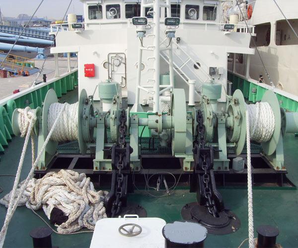 Fabricante de cabrestante de ancla, motor eléctrico/hidráulico