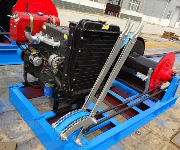 Malacate 4 toneladas, modelo AQ-JKL, calidad fiable