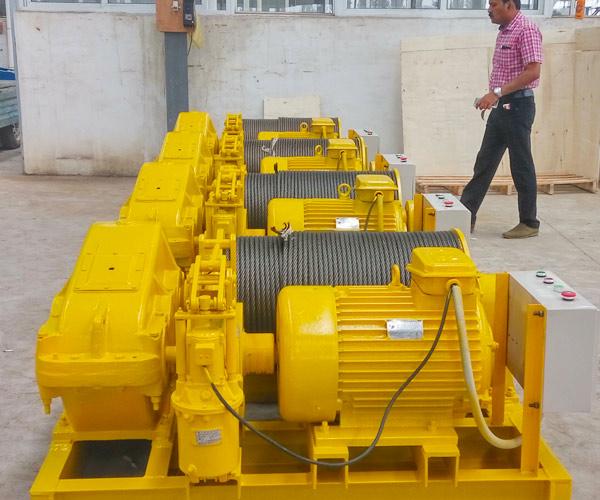 Venta de malacate eléctrico 6 toneladas