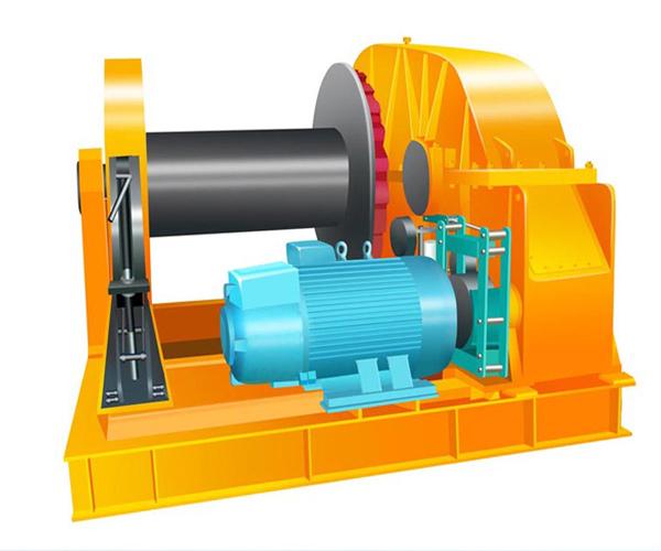 Malacate eléctrico es un equipo de elevación y tracción para la industria.