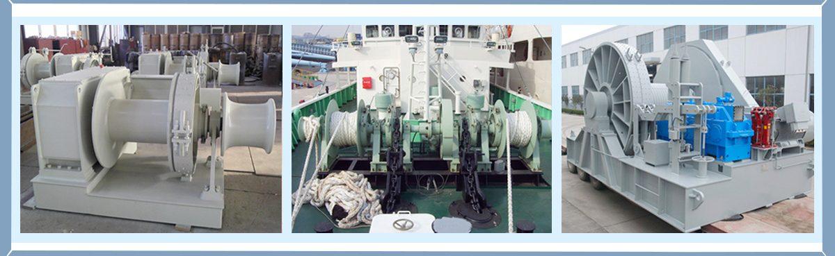 Venta de varios tipos de cabrestante marino para barcos