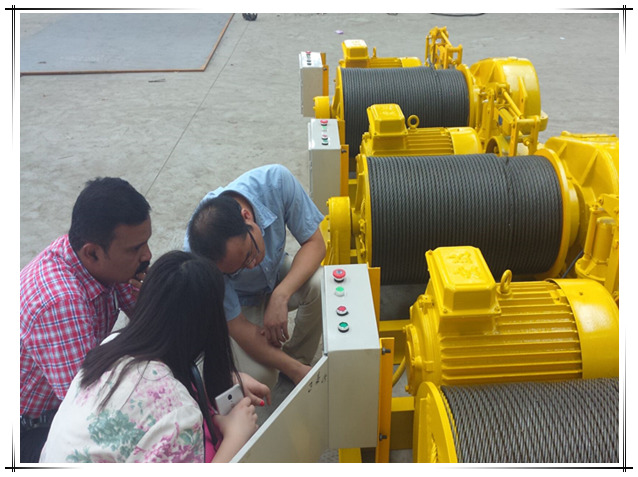 Fabricante profesional de malacates eléctricos y malacates hidráulicos